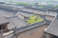 SHANXI, CHINE - septembre 05 2015 : Wang Family Courtyard un h célèbre Image stock