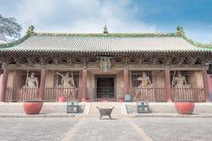 SHANXI, CHINY - Sept 03 2015: Shuanglin świątynia (UNESCO świat Heri Obrazy Stock