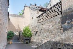 SHANXI, CINA - il 05 settembre 2015: Wang Family Courtyard una h famosa Immagine Stock