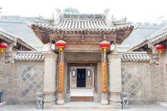 SHANXI KINA - Augusti 29 2015: Gucheng Dayuan (Folk museum) en famo Royaltyfri Fotografi