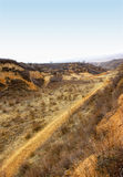 Shanxi Loess Plateau Road Stock Images