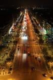 Shanzelize på natten Arkivfoton
