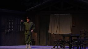 """Shao Jianbo-Peking Opera che """"Taking il  del € di Tiger Montain By Strategyâ video d archivio"""