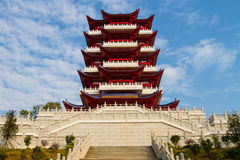 Shao Yang Tower Shaoguan Royalty Free Stock Photos