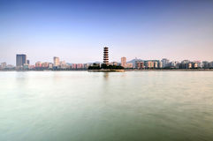 Shaoguan City Landmark Tower of Babel Stock Photography