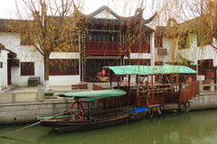 Shaojialou ancient Town Shanghai  pudong Royalty Free Stock Image