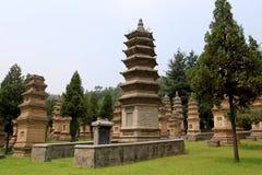 Shaolin świątynia miejsce narodzin Shaolin Kung Fu Obraz Stock
