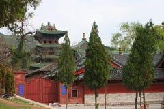 Shaolin świątynia w Songshan Obraz Stock