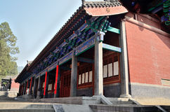Shaolin building. Shaolin Temple Talin, China's most famous temples Royalty Free Stock Image