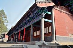 Shaolin byggnad Royaltyfri Bild
