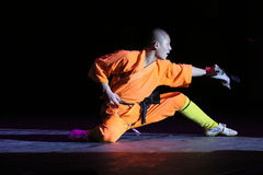 Shaolin fighter Royalty Free Stock Photos