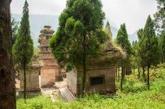 Shaolin kloster Royaltyfria Foton