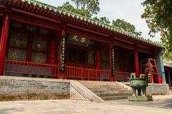 Shaolin kloster - var Hui Ke klippte hans arm Arkivbilder