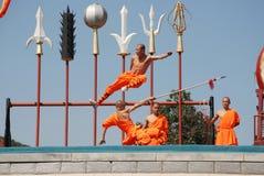 Shaolin kung fu Arkivfoto