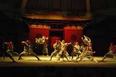 Shaolin Kung fu Στοκ Εικόνες