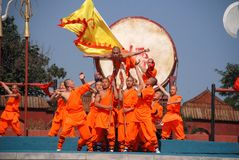 Shaolin Kung fu Stock Image