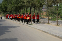 Shaolin kungfu school Royalty Free Stock Photos