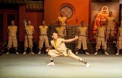 Shaolin monasteru przedstawienie Zdjęcie Stock
