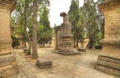 Shaolin monastery henan province Royalty Free Stock Images