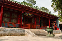 Shaolin Monastery - where Hui Ke cut his arm stock images