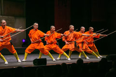 Shaolin monks Stock Photos