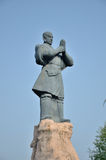 Shaolin Monks statue. Shaolin, Birthplace of Chinese martial arts Stock Photo