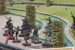 Shaolin statue Royalty Free Stock Image