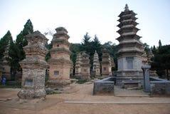 Shaolin tempel Royaltyfria Bilder