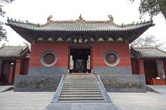 Shaolin tempel Fotografering för Bildbyråer