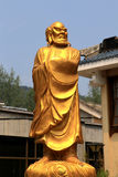 Shaolin tempel, födelseorten av Shaolin Kung Fu Arkivbild