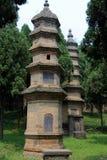 Shaolin tempel, födelseorten av Shaolin Kung Fu Royaltyfri Foto