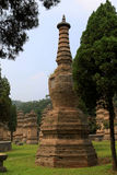 Shaolin tempel, födelseorten av Shaolin Kung Fu Fotografering för Bildbyråer