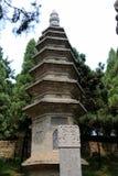 Shaolin Temple, место рождения Shaolin Kung Fu Стоковые Изображения