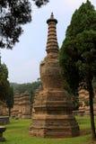 Shaolin Temple, место рождения Shaolin Kung Fu Стоковое Изображение