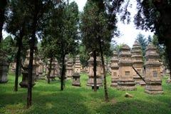 Shaolin Temple, место рождения Shaolin Kung Fu Стоковое Фото