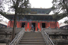 Shaolin Temple 06 fotos de archivo
