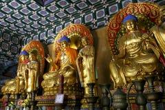 The shaolin temple of Buddha Stock Image