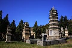 Shaolin Temple, China Foto de archivo libre de regalías