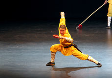 Shaolin Temple of China performs in Bahrain, 2012 Stock Photography