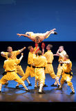Shaolin Temple of China performs in Bahrain, 2012 Stock Photo