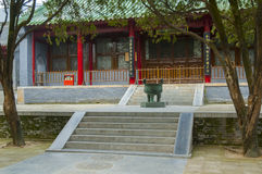 Shaolin Temple entrance Stock Photos