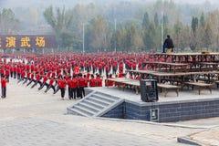 Shaolin Temple Kungfu Schule lizenzfreie stockbilder
