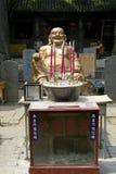 Shaolin temple maitreya Stock Images
