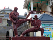 Shaolin Temple sculpture Stock Photo