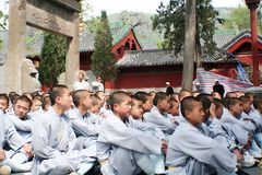 Shaolin Temple in Songshan. Shaolin Temple is located in Songshan, five, Dengfeng, Zhengzhou, Henan. It is called & x22;Shaolin Temple& x22; because it is Royalty Free Stock Photography