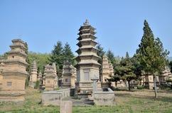 Shaolin Temple Talin. Shaolin monk's grave Stock Photos