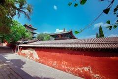 Shaolin Tenple Китая Стоковые Изображения RF
