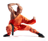 Shaolin warrior monk Royalty Free Stock Image