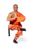 Shaolin warrior monk Royalty Free Stock Photos