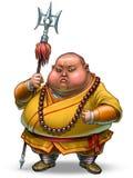 Shaolin warrior Royalty Free Stock Image
